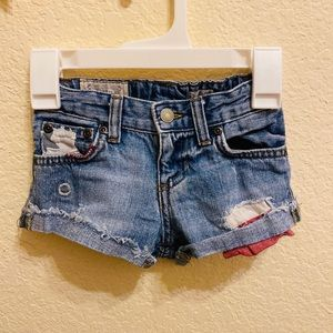 Polo Ralph Lauren toddler's denim shorts
